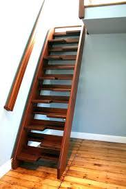 wood loft ladder ideas to attic best access on plans building regs wooden l retractable stairs loft