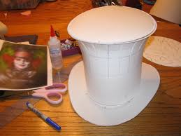how to make a paper top hat step by step mad hatter