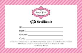 certificate template pages full page gift certificate template write happy ending