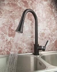 Rubbed Bronze Kitchen Faucet Kitchen Oil Rubbed Bronze Kitchen Faucet With Pull Down Handle