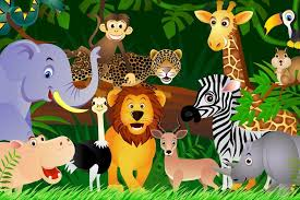 jungle animal background. Interesting Background Jungle Animals Background 1 HD Wallpapers On Animal A