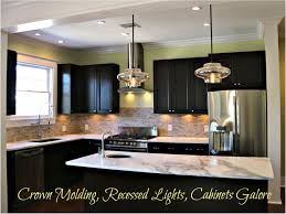 ... Awesome Recessed Lights In Kitchen And Lighting Cabinets Collection Of  Trends Pictures ...