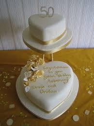 50th Anniversary Cupcake Decorations 50th Anniversary Cake 50th Wedding Anniversary Pinterest