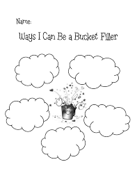 Small Picture Ways I can be a bucket fillerpdf Elementary Counseling