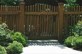 brown vinyl fence. Finest Fence Contractor \u2013 Sherman Oaks Brown Vinyl