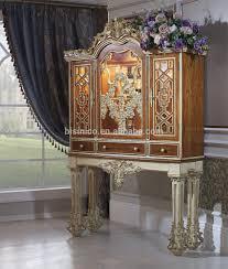Solid Wood Living Room Furniture Sets Bisini Luxury Sofa Furnituredubai Luxury Genuine Leather Sofa