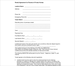 Rental Agreement Letter Samples For Owner And Tenant : Vidopa