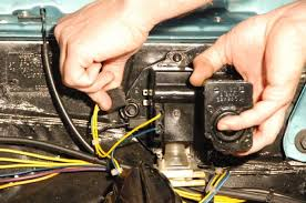 installing new port engineering s clean wipe wiper drive for a new port engineering wiper 1966 1967 chevelle 03 unplug