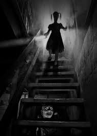 creepy basement stairs. Photographer Joshua Hoffine Recreated Some Of Our Childhood Nightmares Into A Visual Reality. Apart From The Scary Monster Under Your Bed. Creepy Basement Stairs