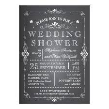 Couple Wedding Shower Invitations Lovely Chalkboard Couples Wedding Shower Invitation Card