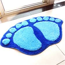 big bathroom rugs fashion cute footprints big feet bath mat door mats on foot pad rug