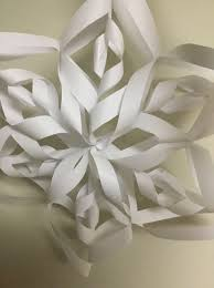 How To Make A 3d Snowflake How To Make A 3d Paper Snowflake