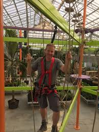 high ropes wilson s lifestyle in sky rail first global amusements play