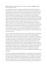 compare and contrast poems essay theories essay how to write a  explain how seamus heaney presents the storm in storm on the island buy poetry essay