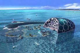 underwater hotel room at night. Underwater Hotel Room At Night L