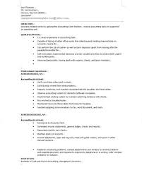entry level accounting resume accounting clerk resume samples