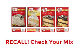 Duncan Hines Cake Mix Recalled Due To Salmonella How To Shop For