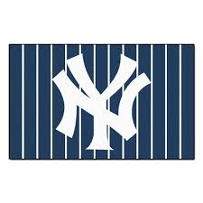 fanmats new york yankees 4 ft x 6 ft area rug