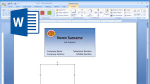 how to create business cards in word 023 microsoft word business cardte lovely free averytes for