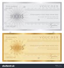 gift certificate voucher coupon template guilloche gift certificate voucher coupon template guilloche pattern watermarks border background for banknote money design currency note