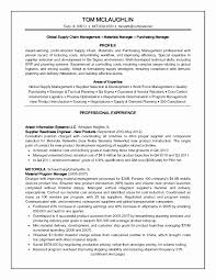Resume Samples For Supply Chain Management Lovely Unusual Sample