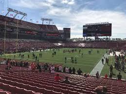 Taylor Swift Raymond James Seating Chart Raymond James Stadium Level 1 First Level Home Of Tampa
