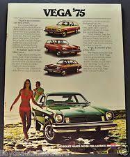 vega gt chevrolet 1975 chevrolet vega catalog s brochure gt lx wagon excellent original 75