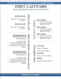 Free cv templates #247 to 253