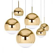 modern classic electroplate pendant light famous design silver glass mirror durface star ball for palor home