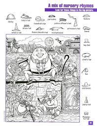 hard hidden pictures worksheets printable printable christmas ...