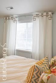 Bedroom Curtain Tutorial