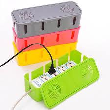 korean design cable organizer box wire winder wire manager