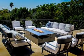Modern Outdoor Furniture Los Angeles Stunning Custom Outdoor Fire Pit Tables California Cooke Furniture