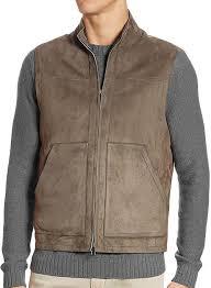 leather vest 329
