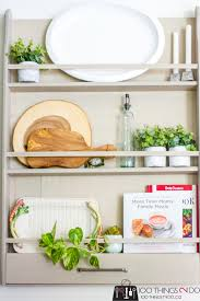 how to make a wall mounted diy plate rack tutorial and plans