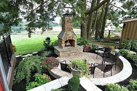 homemade outdoor fireplace ideas lovable patio simple designs outside design homem