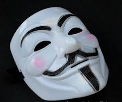 Large Masquerade Masks For Decoration V Mask Masquerade Masks For Vendetta Anonymous Valentine Ball 31