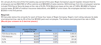 Employee Payroll Deductions Calculator Solved 1 2 Prepare The Journal Entry To Record Regis Comp