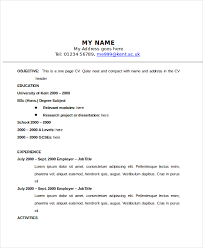 Classic Resume Example Best Resume Templates Word Classic 48 Examples Of Resumes Shalomhouseus