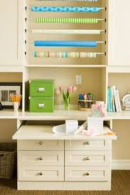 craft room ideas bedford collection. Great Storage Ideas - The Pull Out Desk, Wrapping Paper Area, Lots Of Craft Room Bedford Collection