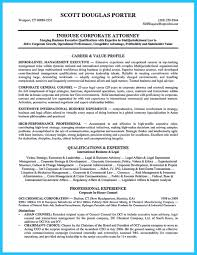 Lawyer Resume Sample Written By Distinctive Documents Template