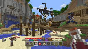 minecraft xbox one map size gear up for battle mini game coming to minecraft on consoles in