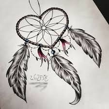 Heart Dream Catcher Tattoo Photos Heart Dream Catcher Drawing DRAWING ART GALLERY 43