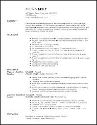 coaching resume example free traditional sports coach resume template resumenow