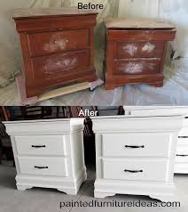 painted wood furnitureWonderful Antique White Wood Paint and How To Distress Furniture