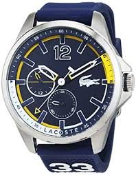 lacoste mens watch 2010897 amazon co uk watches lacoste mens watch 2010897