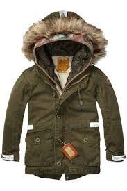 ... scotch shrunk canvas parka. jongensjas. fashion for boys koflo. canada  goose