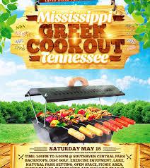 Greek Cookout Flyer