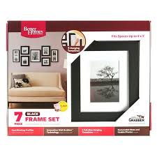 better homes and gardens picture frames. Interesting Gardens Buy Better Homes And Gardens Gallery 7Piece Frame Set Black In Cheap  Price On Alibabacom Throughout And Picture Frames T