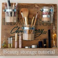 diy makeup organizing ideas beauty storage station projects for makeup drawer box